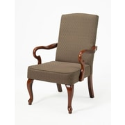 Astoria Grand Moni Arm Chair; Chocolate