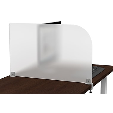 Symple Stuff 17'' H x 29'' W Frosted Privacy Panel