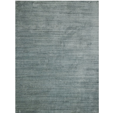 Latitude Run Adamsburg Hand-Woven Blue Area Rug; 2' x 3'