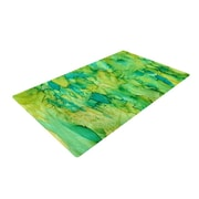 East Urban Home Rosie Brown Going Emerald Area Rug