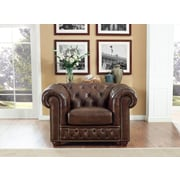 17 Stories Walsh Leather Club Chair