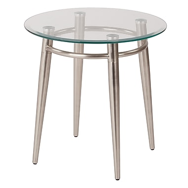 Avenue Six Brooklyn Round End Table