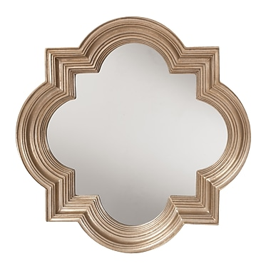 OSP Designs Gatsby Wall Mirror w/ Platinum Gold Frame