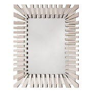 OSP Designs Empire Wall Mirror, Glass Frame