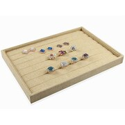 Zakka Burlap Jewelry Display Jewellery Tray For Ring