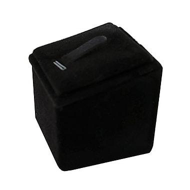 Zakka – Présentoir à pince en velours noir pour bagues et pendentifs
