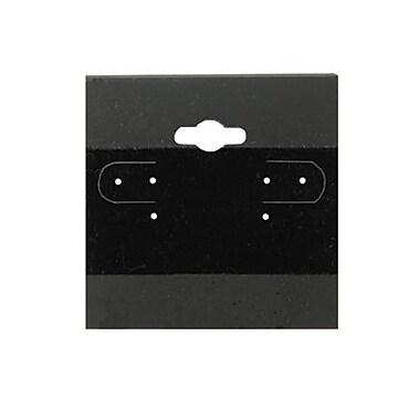 Zakka 100 Plastic Earring Hanging Card 1.5