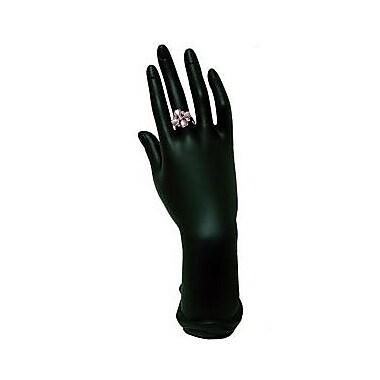 Zakka Hand Up Form Ring Bracelet Display Black 11