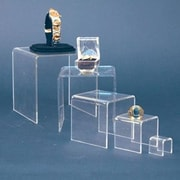 Zakka Acrylic Display Cube Riser Set of 5 Pieces