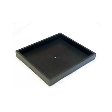 Zakka Half Size Stackable Tray Plastic Black 1