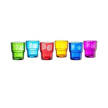 LiveVie Set of 6 Square Glass Votive (ANC-807)