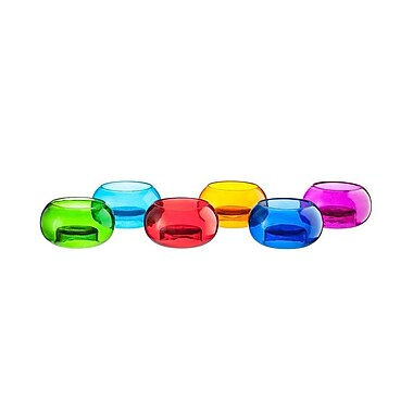 LiveVie Set of 6 Glass T-Lite Votive (ANC-808)