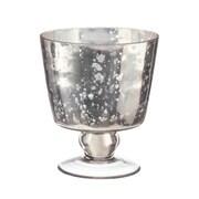 LiveVie – Bougeoir en forme de bol conique de la collection Champagne (ANC-811)