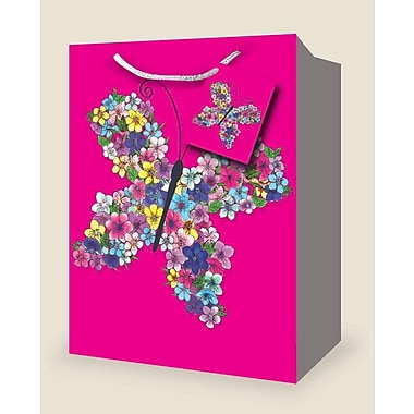 Petits sacs féminins, papillon, 12/paquet
