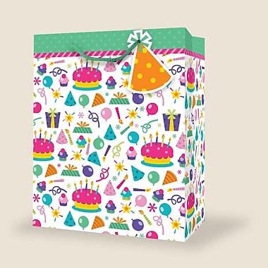 Small Birthday Bags (47409), 12 Bags