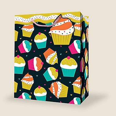 Sac féminin moyen, anniversaire, 12/paquet