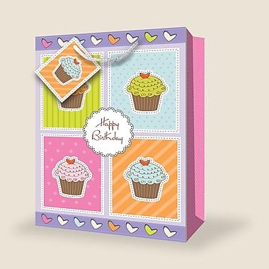 Sacs-cadeaux géants, gâteau, 12/paquet