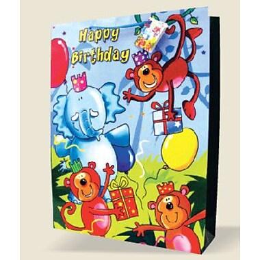 Très grands sacs pour enfants, anniversaire, 12/paquet
