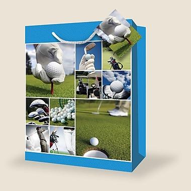 Très grands sacs masculins, golf, 12/paquet
