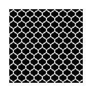 2 Sheet Flat Wrap, Black/White, 24 Sheets