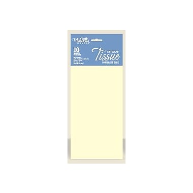 Solid Colour Tissue, French Vanilla, 12/Pack