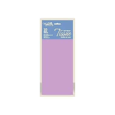 Solid Colour Tissue, Lavender, 12/Pack