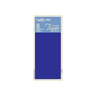 Solid Colour Tissue, Parade Blue, 12/Pack