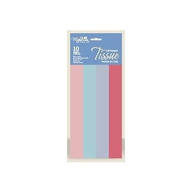 Papier de soie féminin, 4 couleurs, 12/paquet