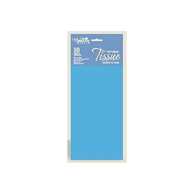 Solid Colour Tissue, Pacific Blue, 12/Pack