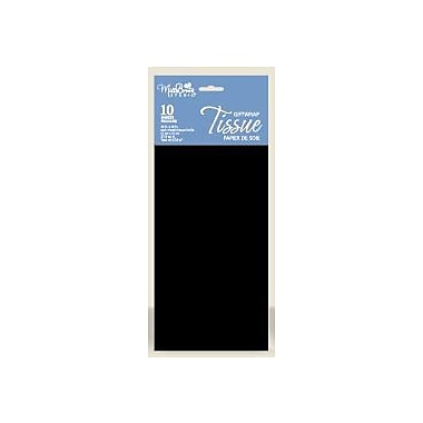 Solid Colour Tissue, Black, 12/Pack