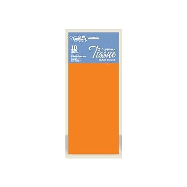 Solid Colour Tissue, Apricot, 12/Pack
