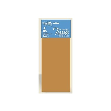 6 Sheet Tissue Paper, Bronze, 12/Pack