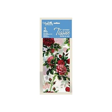 Printed 6 Sheet Tissue Paper, Floral, 12/Pack