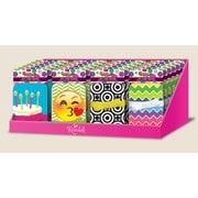 Boîte en métal pour cartes-cadeaux avec ruban de fixation, 24/paquet