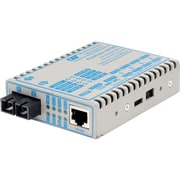 FlexPoint 10/100 Ethernet Fiber Media Converter RJ45 SC Single-Mode 30km