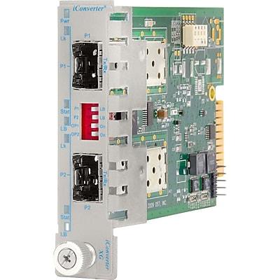 iConverter 10 Gigabit Ethernet Fiber Media Converter SFP+ to SFP+ 10Gbps Module