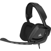 Corsair VOID Surround Hybrid Stereo Gaming Headset with Dolby 7.1 USB Adapter, Carbon