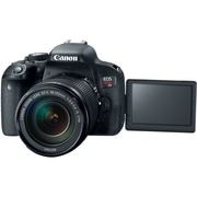Canon EOS Rebel T7i 24.2 Megapixel Digital SLR Camera with Lens, 18 mm, 135 mm