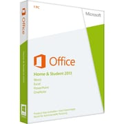 Microsoft Office 2013 Home & Student 32/64-bit, License and Media, 1 PC, Non-commercial