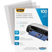 Fellowes Laminating Pouches, Letter, 3 mil, 100Pack