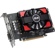 Asus RX550-2G Radeon RX 550 Graphic Card, 1.18 GHz Core, 2 GB GDDR5, PCI Express 3.0, Dual Slot Space Required