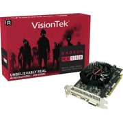 Visiontek Radeon RX 550 Graphic Card, 1.10 GHz Core, 1.18 GHz Boost Clock, 2 GB GDDR5