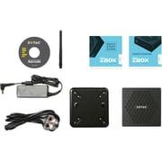 Zotac ZBOX nano C ZBOX-CI327NANO-U Desktop Computer, Intel Celeron N3450 1.10 GHz DDR3L SDRAM, Mini PC