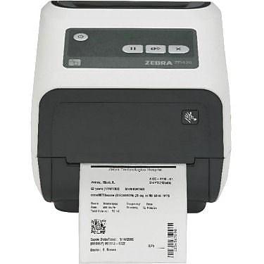 Zebra ZD420-HC Thermal Transfer Printer, Monochrome, Desktop, Label Print