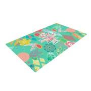 East Urban Home Anneline Sophia Aztec Boho Emerald Teal/Rainbow Area Rug