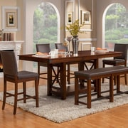 Loon Peak Wayland Counter Height Extendable Dining Table