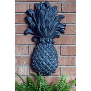 Hickory Manor House Outdoor Pineapple Plaque Essex Lead Wall D cor