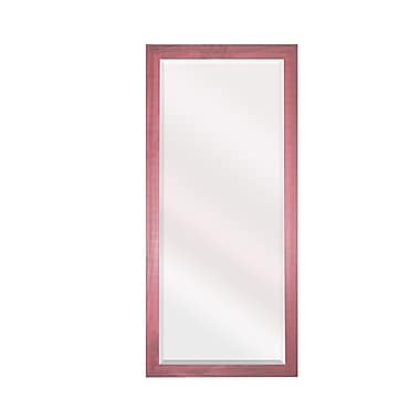 Harriet Bee Vintage Rectangle Full Length Wall Mirror; 35.5'' H x 23.5'' W x 0.16'' D