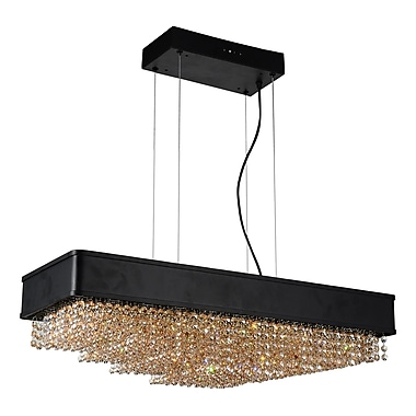 Everly Quinn Mali 10 Light Crystal Chandelier