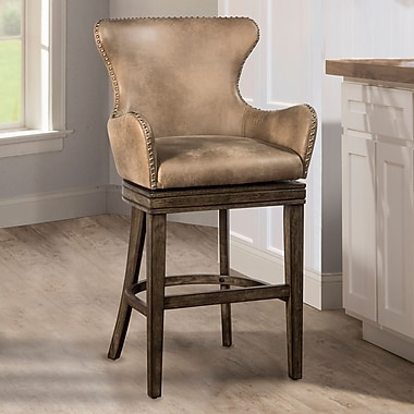 Loon Peak West Hollywood 30'' Swivel Bar Stool